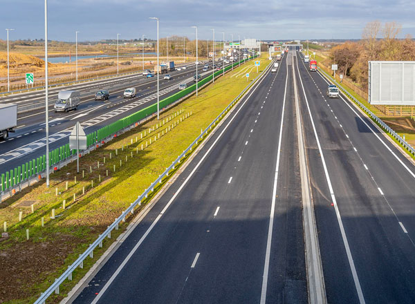 Early Opening for Britain's Biggest Road Project