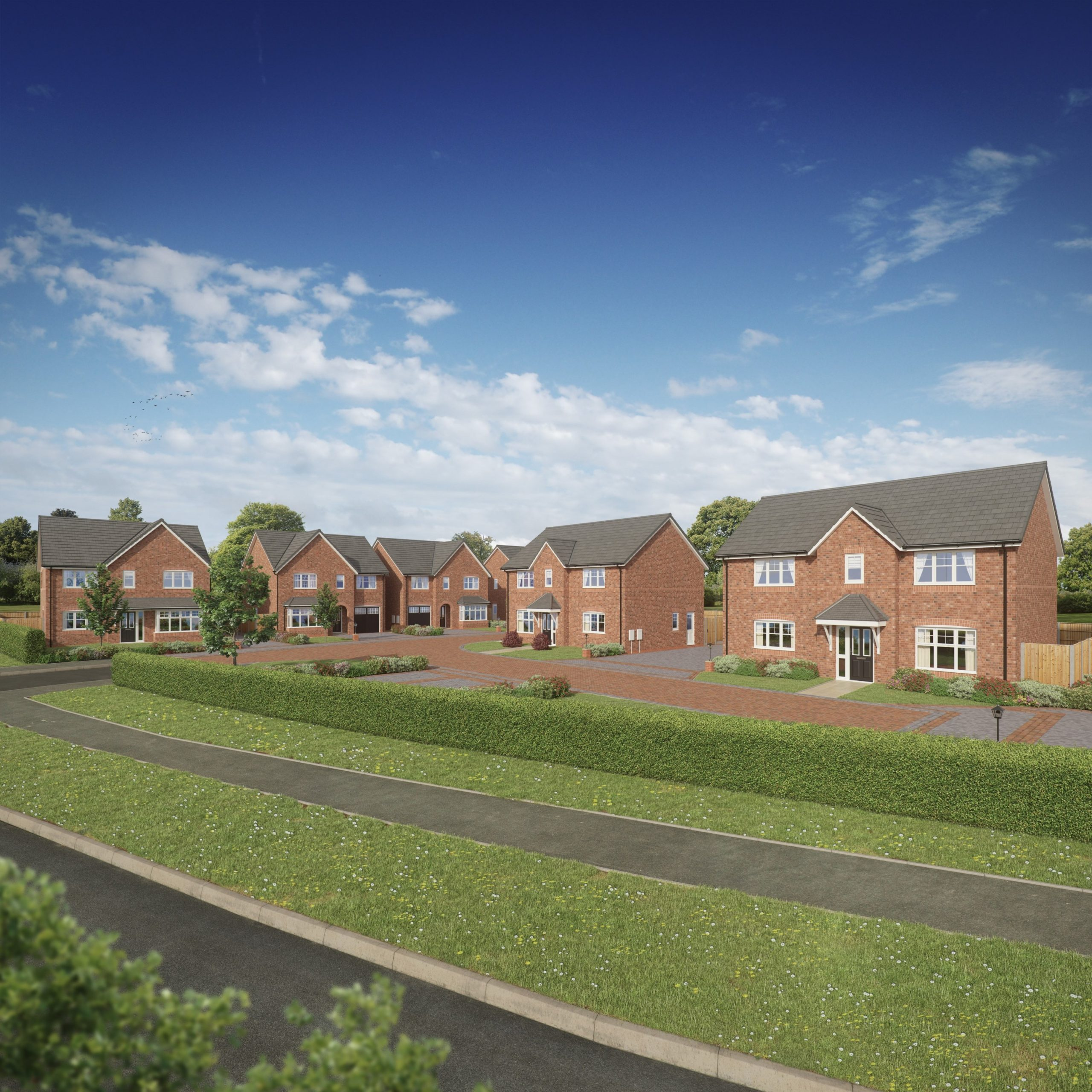 CHESHIRE HOMEBUILDER SETS OUT GREEN AGENDA