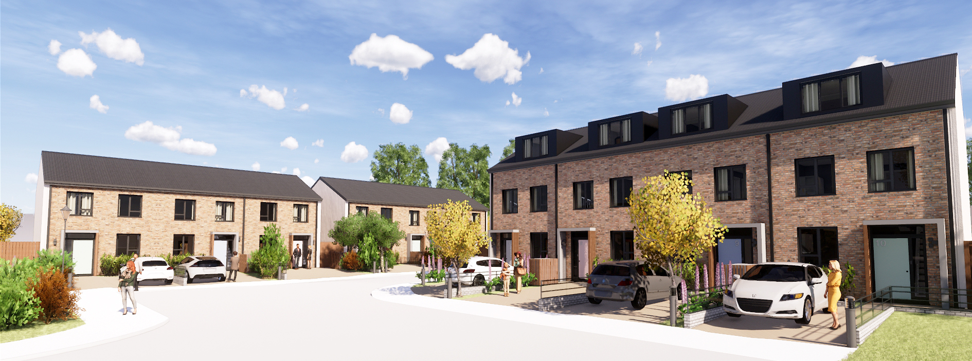 Modular Housebuilding Used in the Rehabilitation of First Time Offenders
