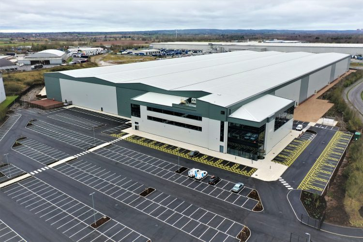 GMI announces completion of latest speculative industrial development at Fradley Park