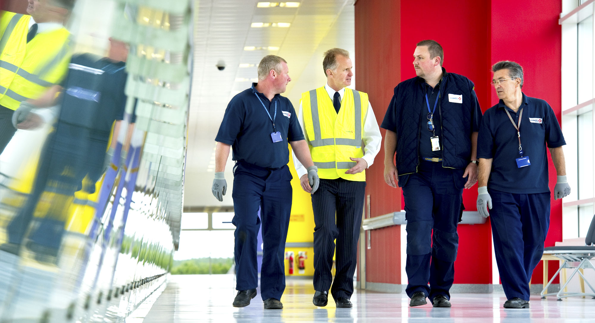 VINCI Facilities diverts teams to support the NHS and its key workers