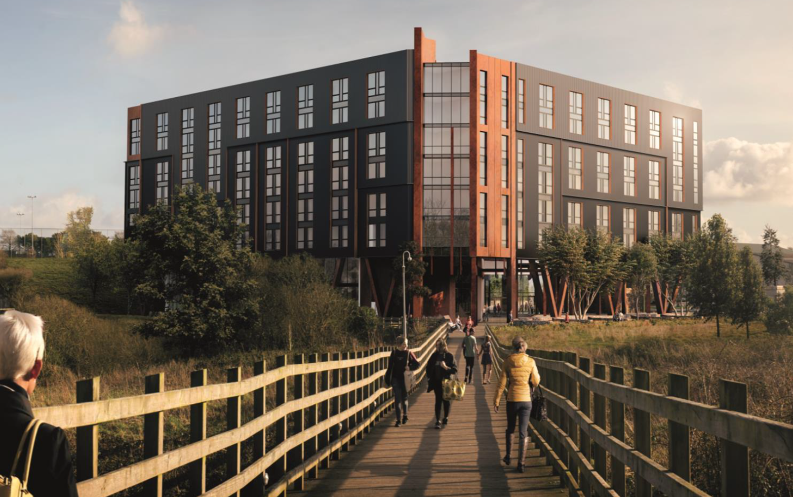 Caledonian Modular Secures £40m, 528 bed Student Development