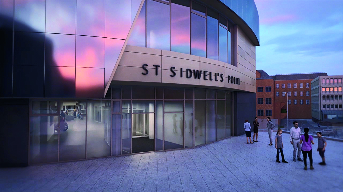 Kawneer glazing systems to feature on world's first Passivhaus leisure centre