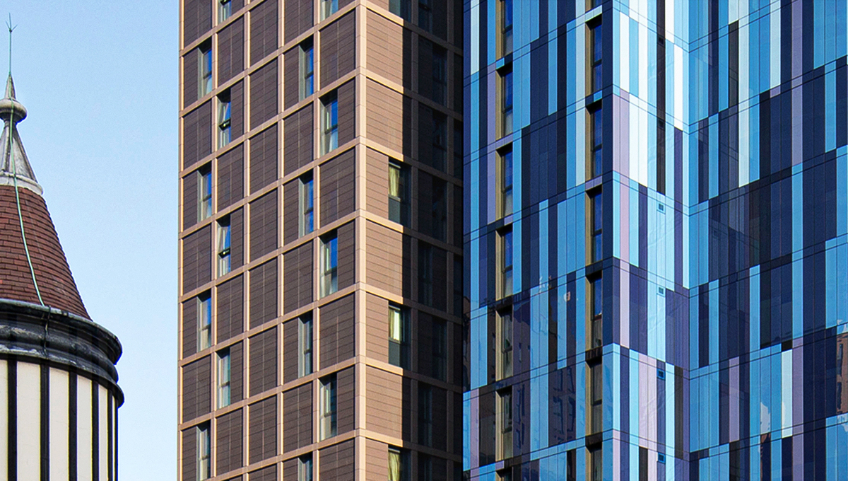 PROTEUS GL HELPS STUDENT BUILDING IN LONDON BLEND IN