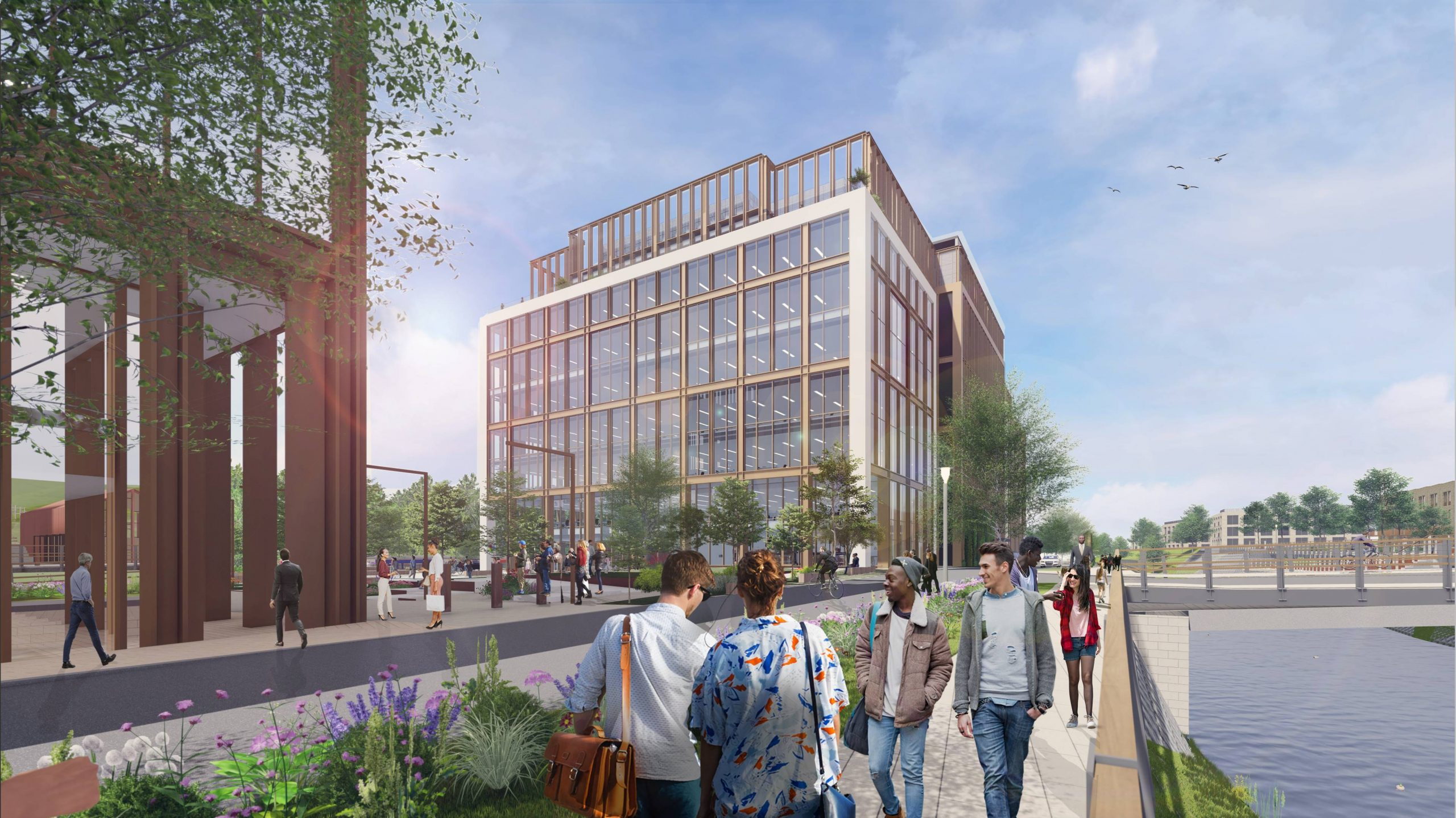 PLANNING GRANTED FOR NEXT PHASE OF COMMERCIAL DEVELOPMENT AT KIRKSTALL FORGE