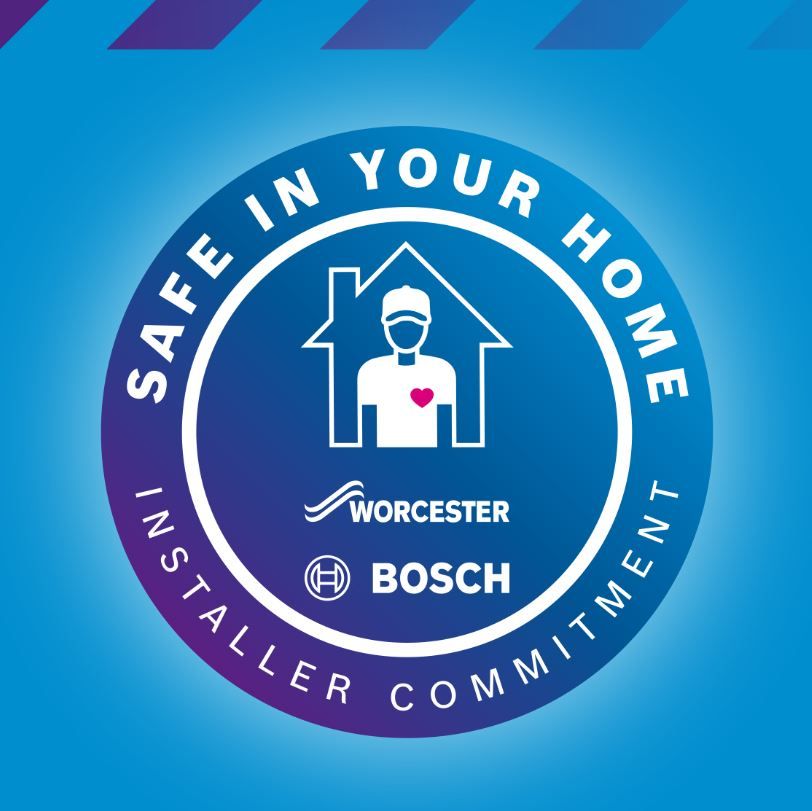 Worcester Bosch launch Safe in Your Home Installer Commitment to ensure installer and customer safety