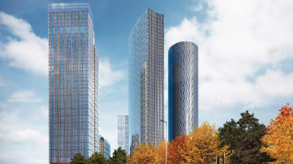 Manchester Skyscrapers Plans Approved
