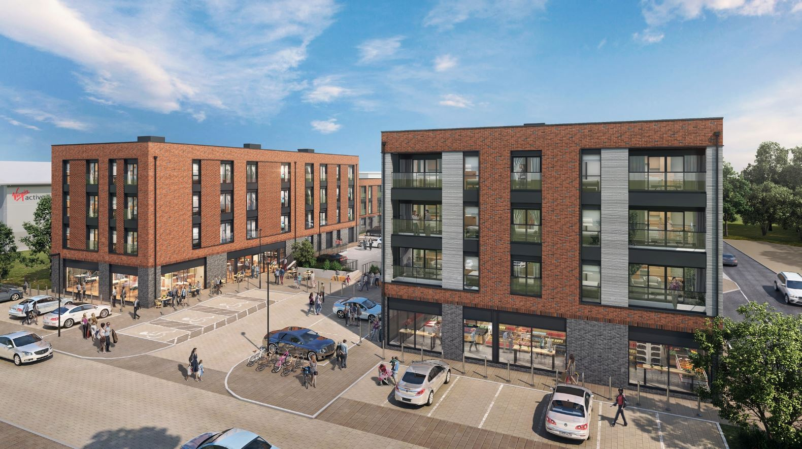 Works start on £7.5m mixed-use residential development in Solihull