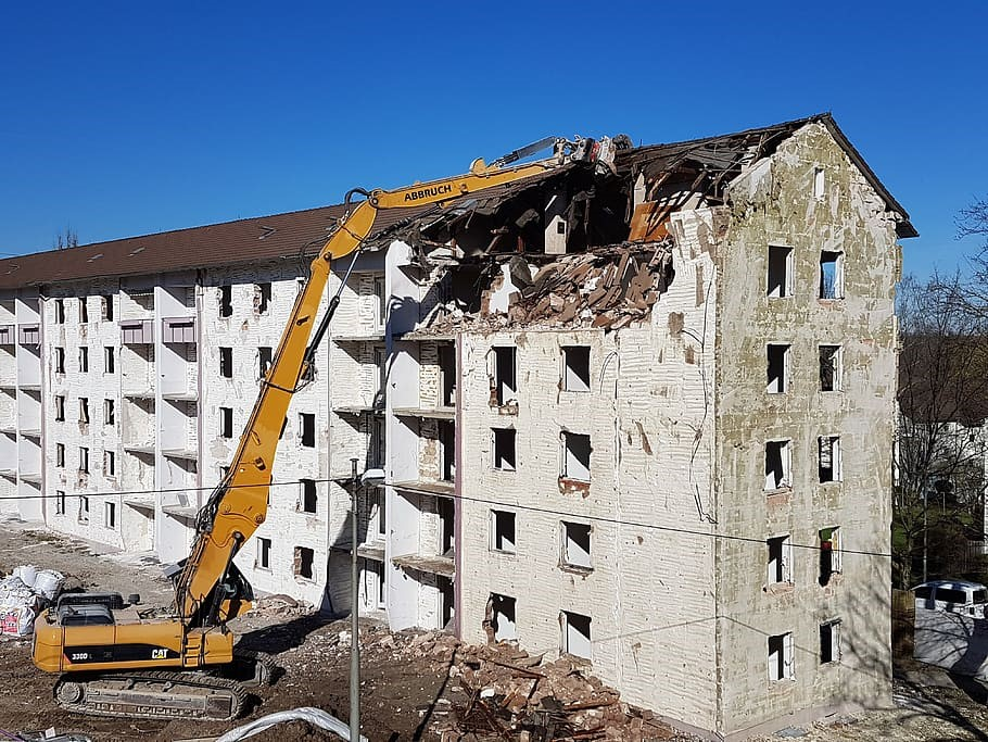 Why Do People Hire Commercial Demolition Companies?