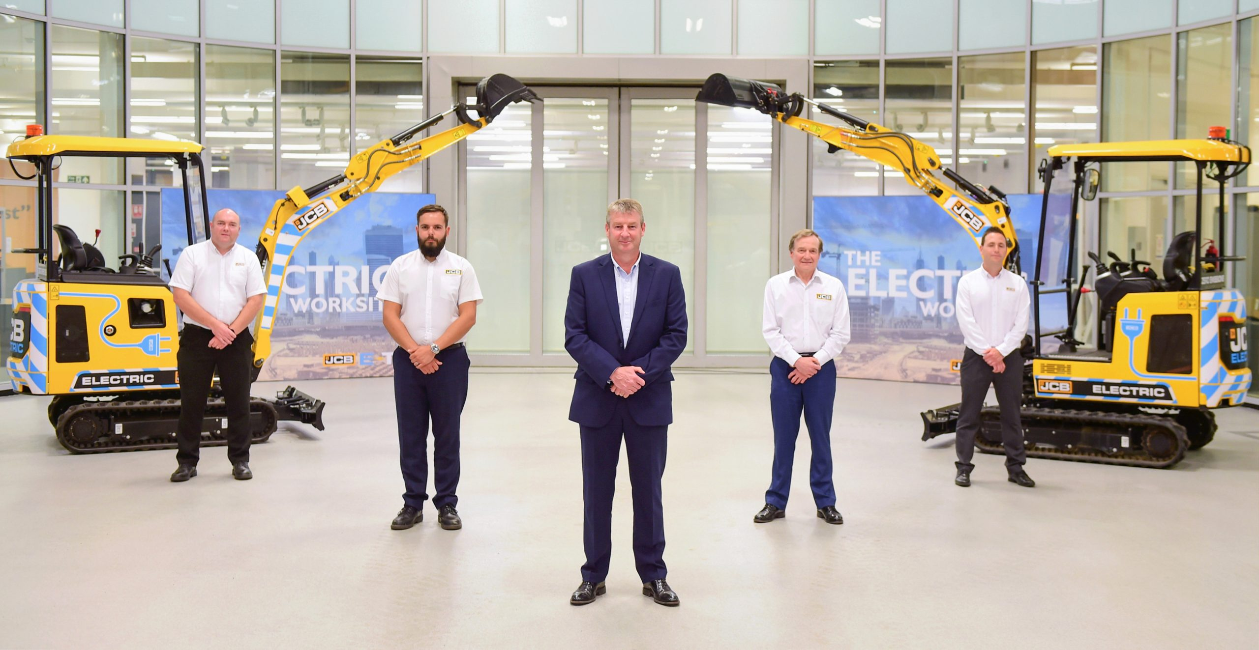 World's first electric digger wins MacRobert Award for UK engineering innovation
