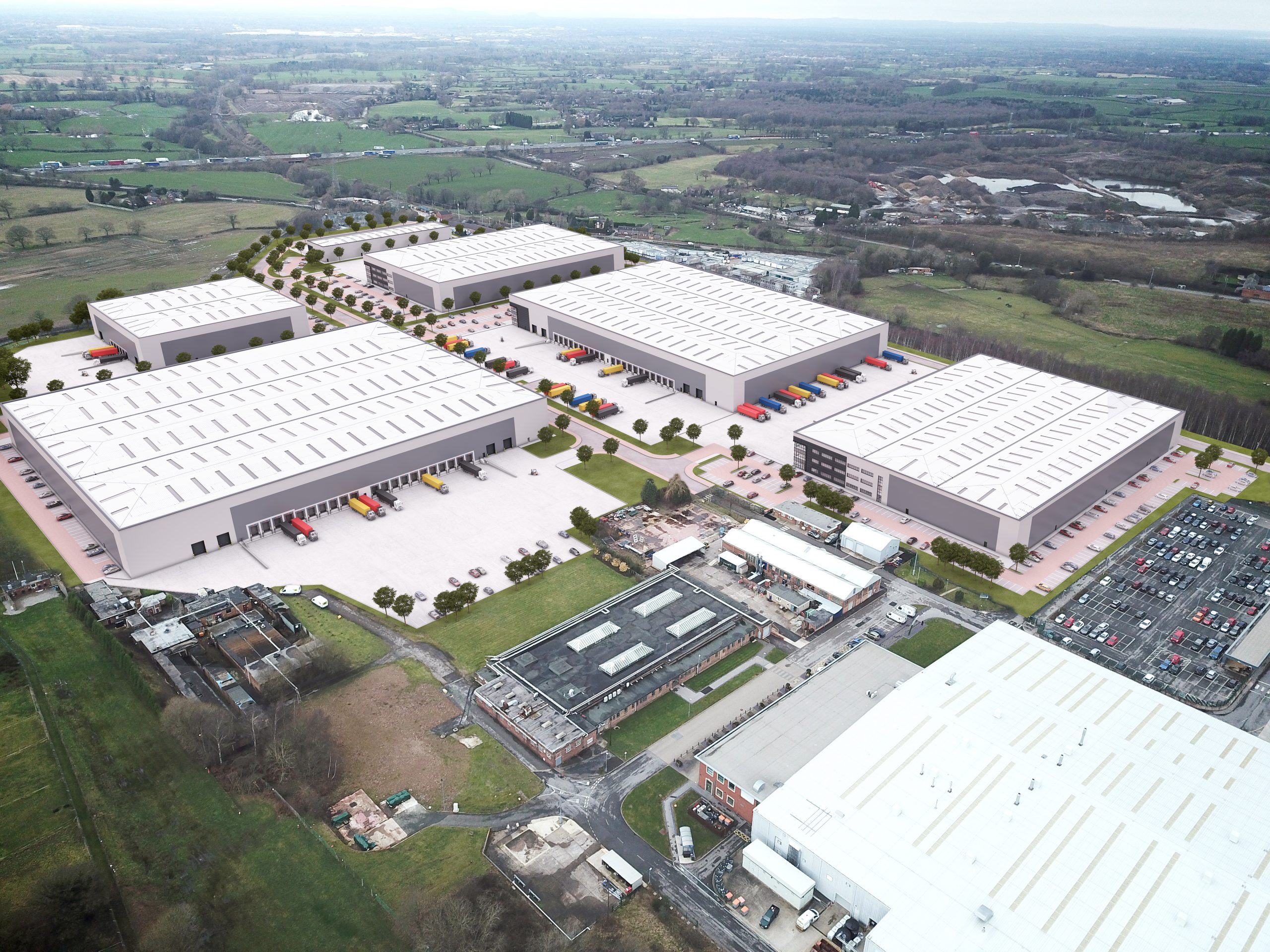 Plans unveiled for major new industrial development at Radway Green in Crewe