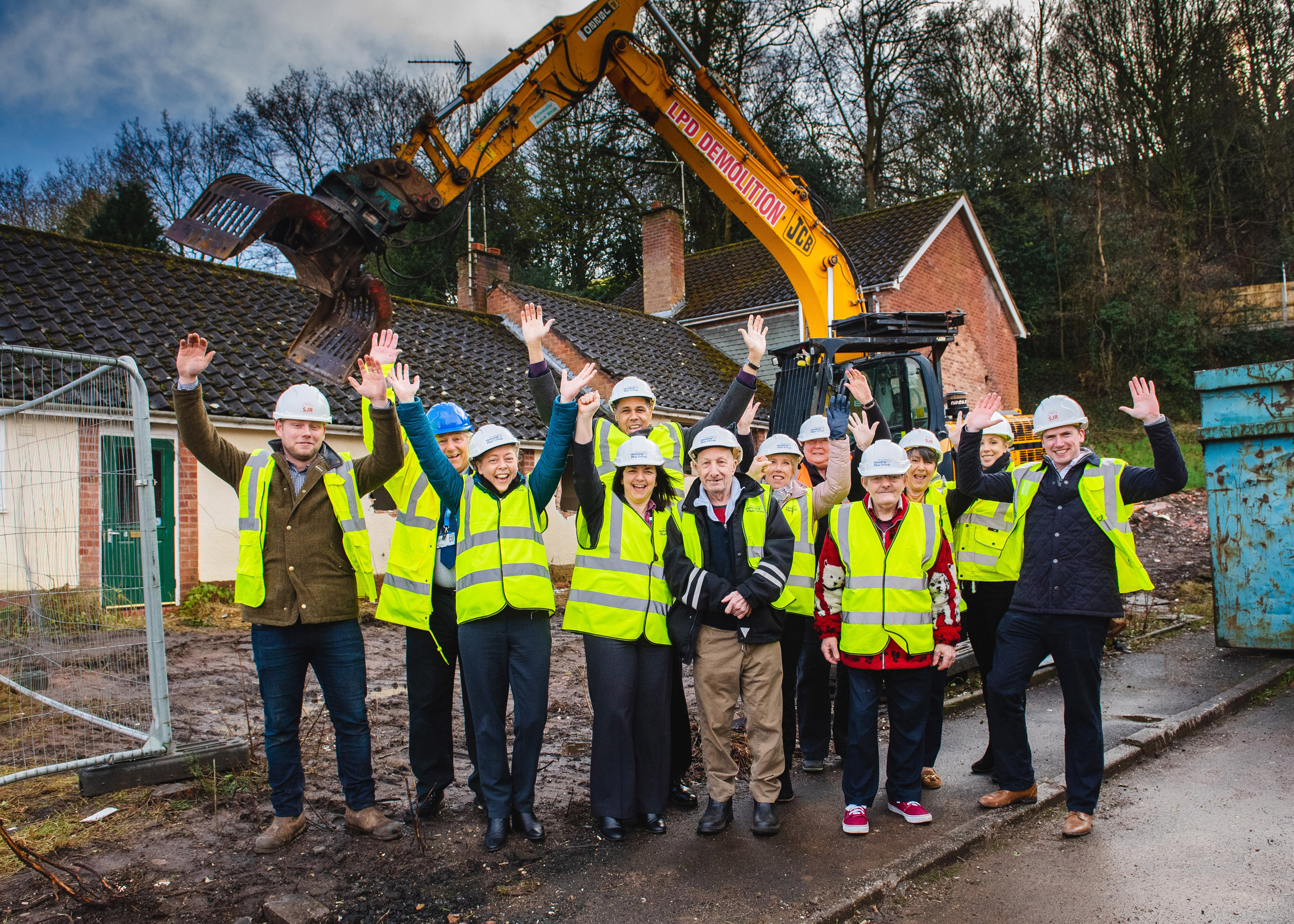 Work starts to build new retirement living homes in Kinver