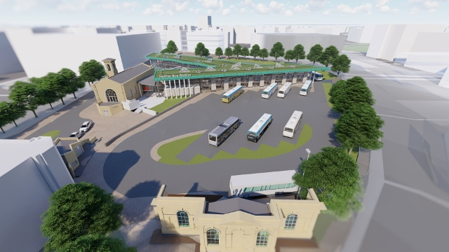 Stephen George + Partners submits plans for new £15.8 million Halifax Bus Station