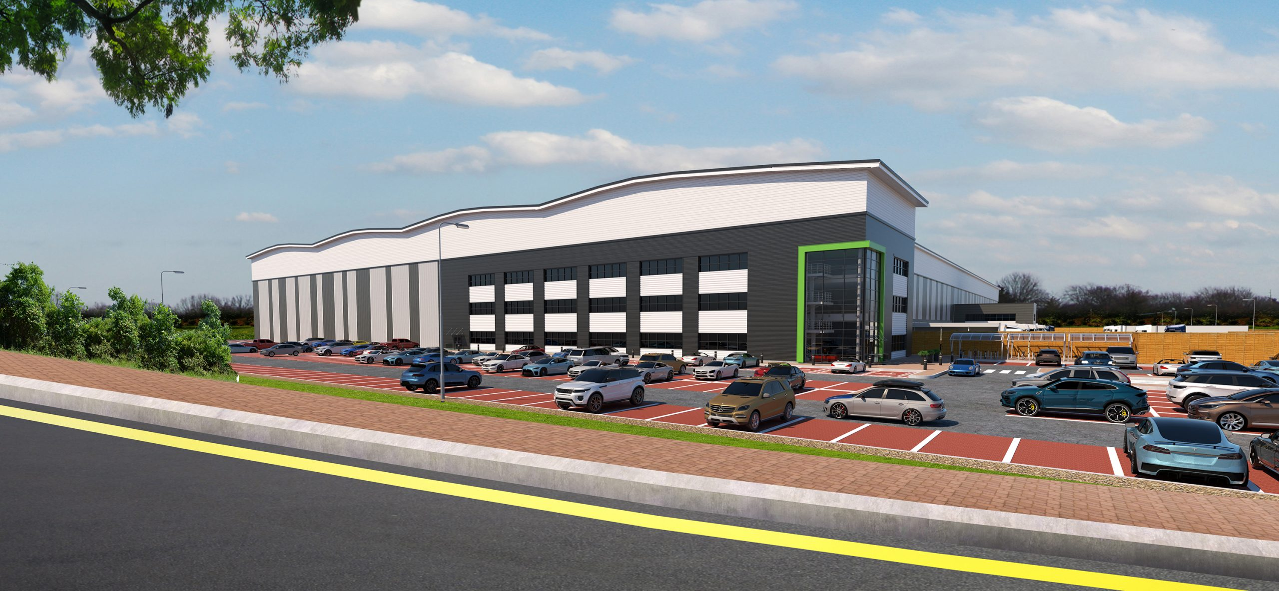 Goodman given green light for M25 340,000 sq ft prime e-commerce and deliveries site