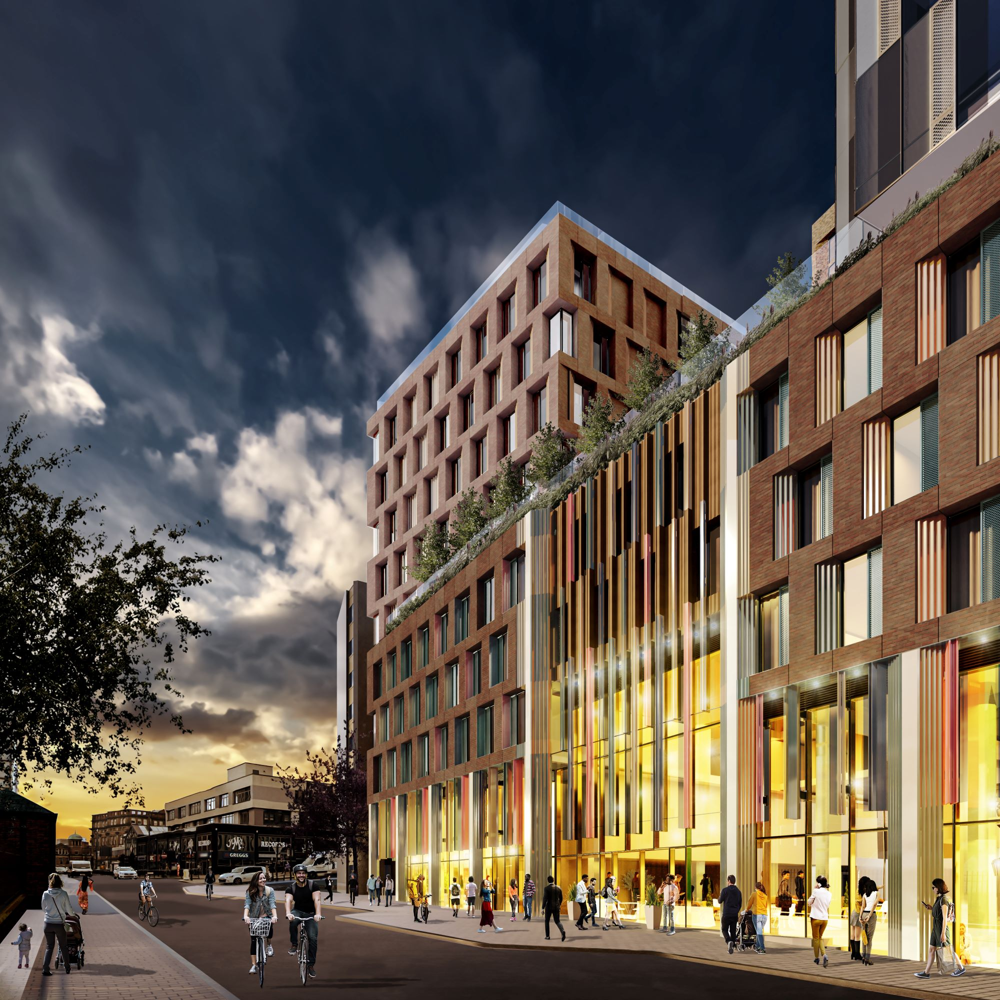 Green light for £100m SimpsonHaugh designed 32-storey residential tower in Leeds city centre