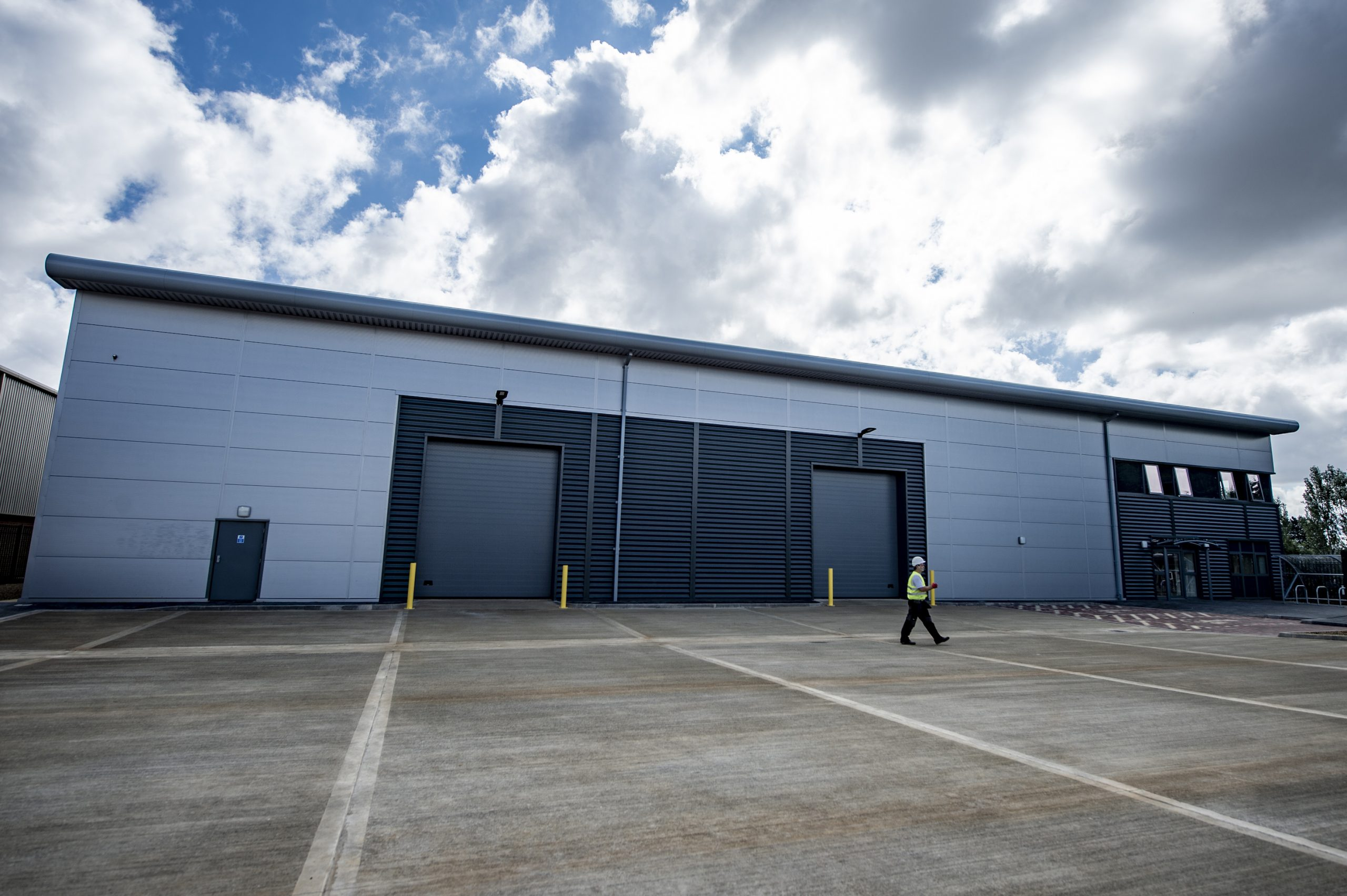 STEPNELL SHOWCASES UNIQUE END-TO-END APPROACH AT RECENT WAREHOUSE COMPLETION