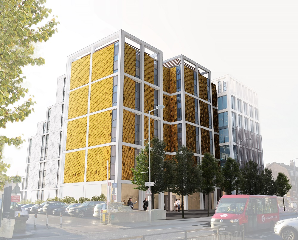 Completion of DMA-designed Hampton by Hilton adds golden elegance to Ealing suburb