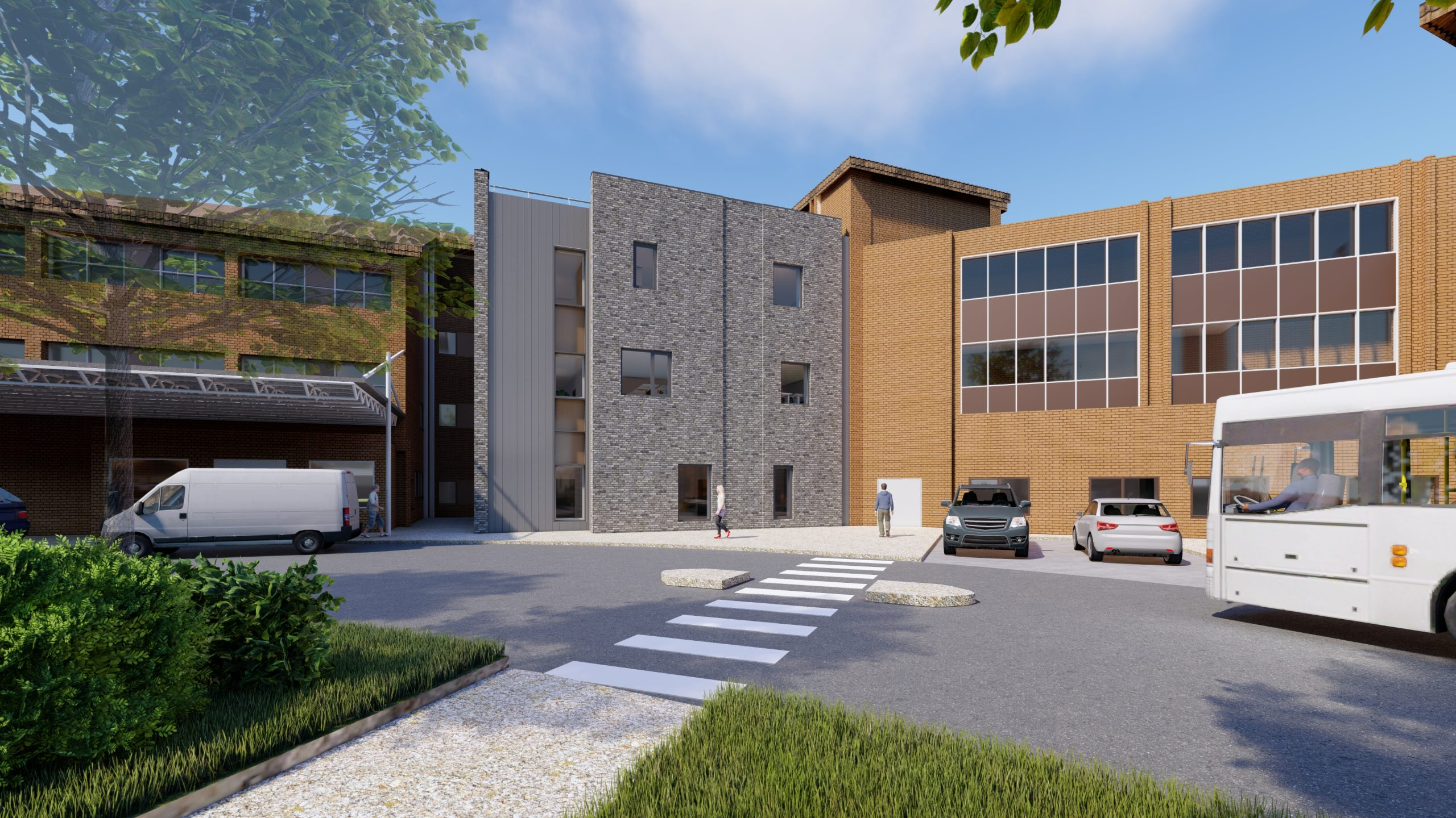 Construction work gets underway on major project that will help to transform Musgrove Park Hospital