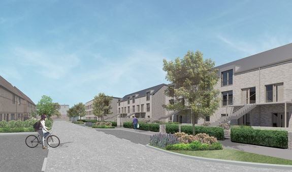 Work begins on energy-efficient housing developments in North East Edinburgh