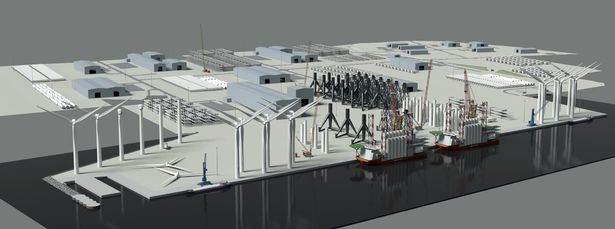 £4.3m Government Cash secured to open up a New North Lincolnshire port development