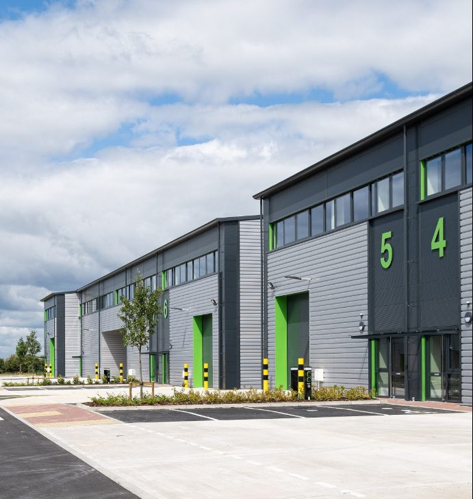 Chancerygate completes £10m furlong business park industrial development in Cheltenham with a third of units already sold