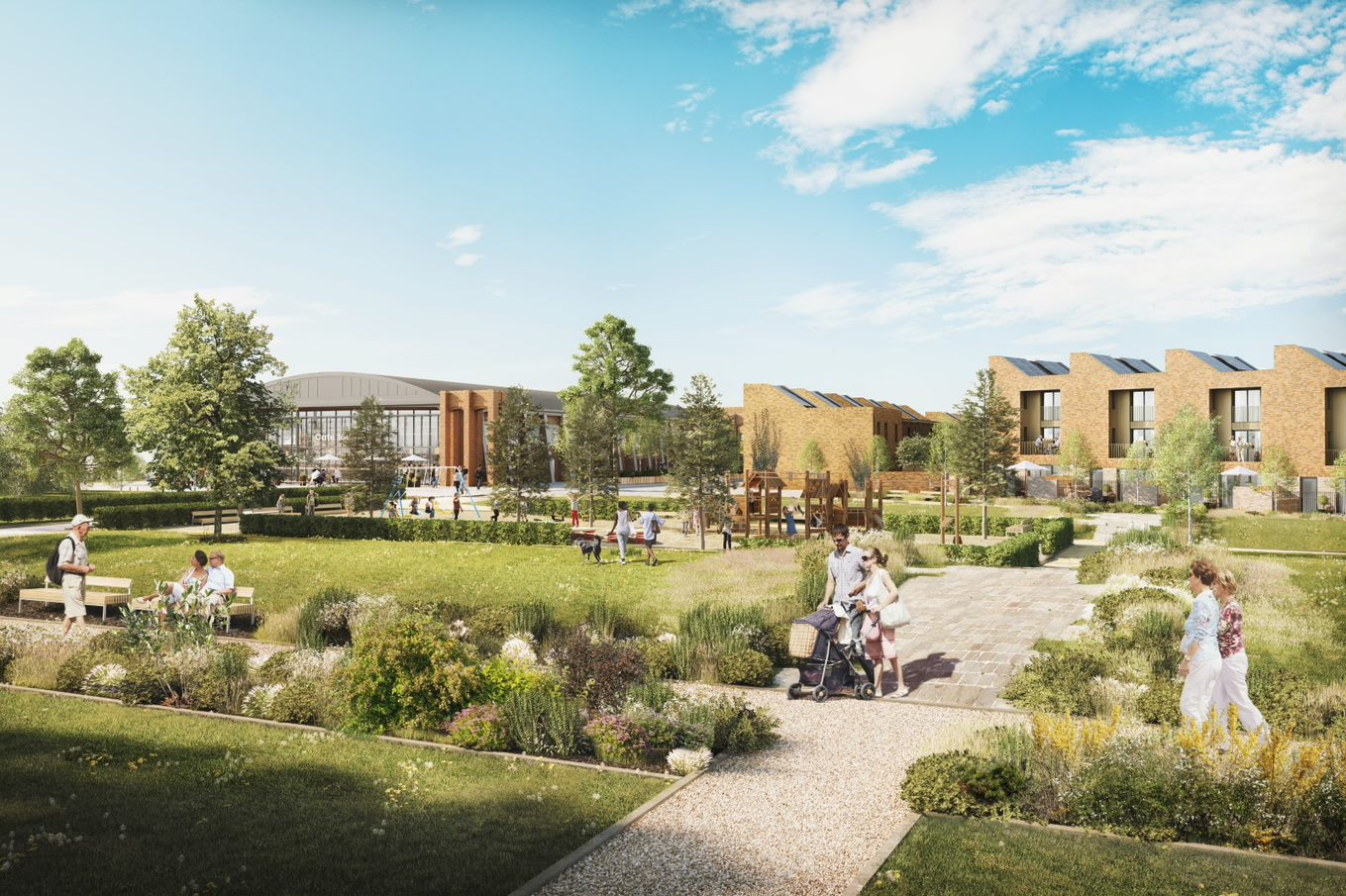 Good news for Filton as new homes at Brabazon reach their full height
