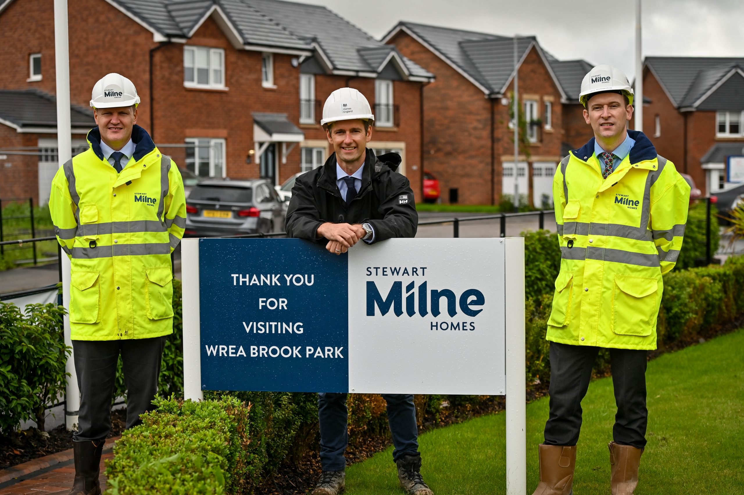 STEWART MILNE HOMES SECURES £13M FROM HOMES ENGLAND TO ACCELERATE DELIVERY OF 1,000 NEW HOMES IN THE NORTH WEST