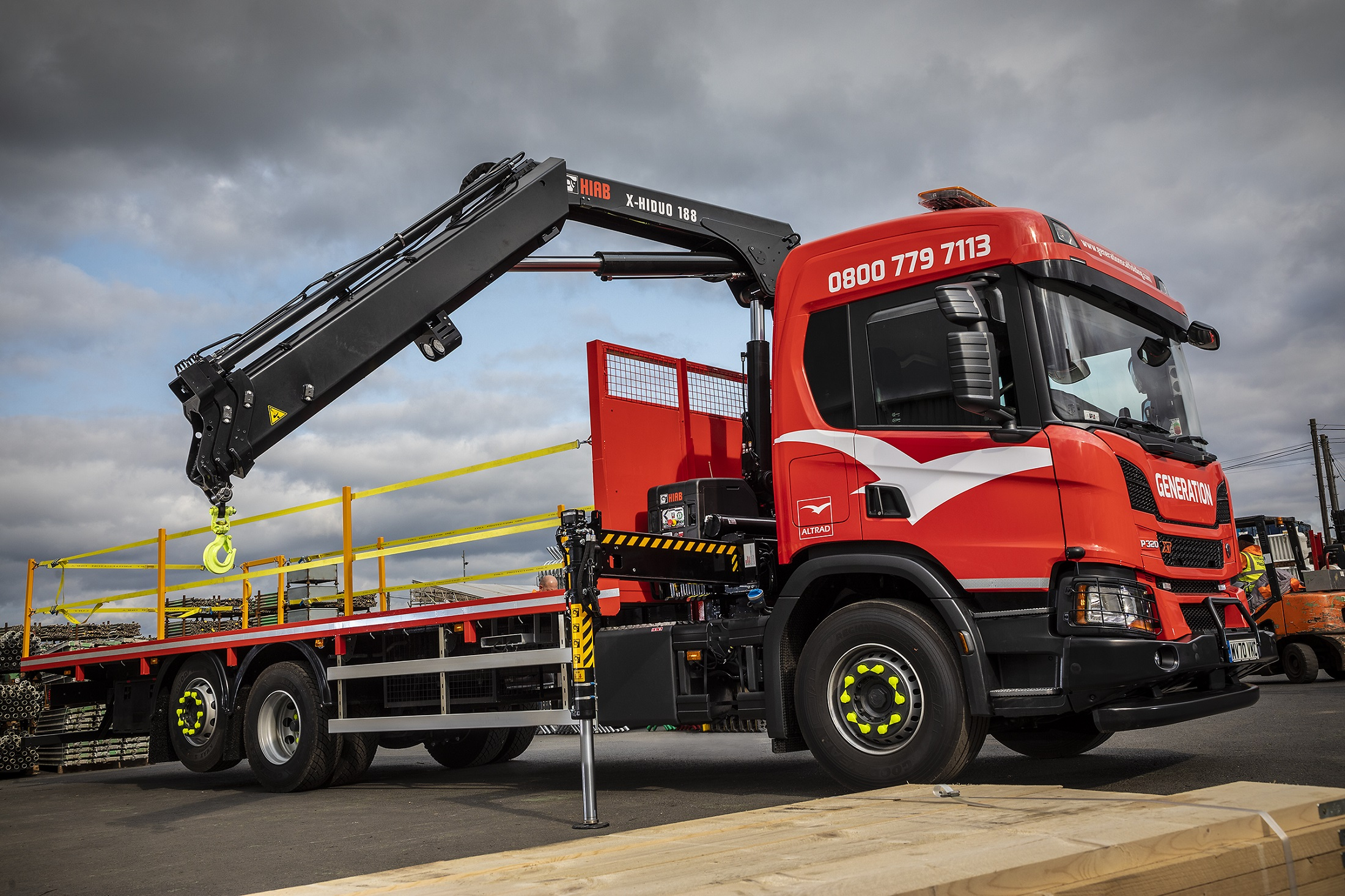 Scaffolding Giant Invests in New Generation Cranes
