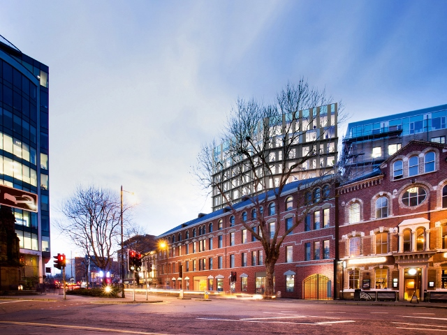 TODD Architects wins planning for aparthotel at Belfast linen warehouse site