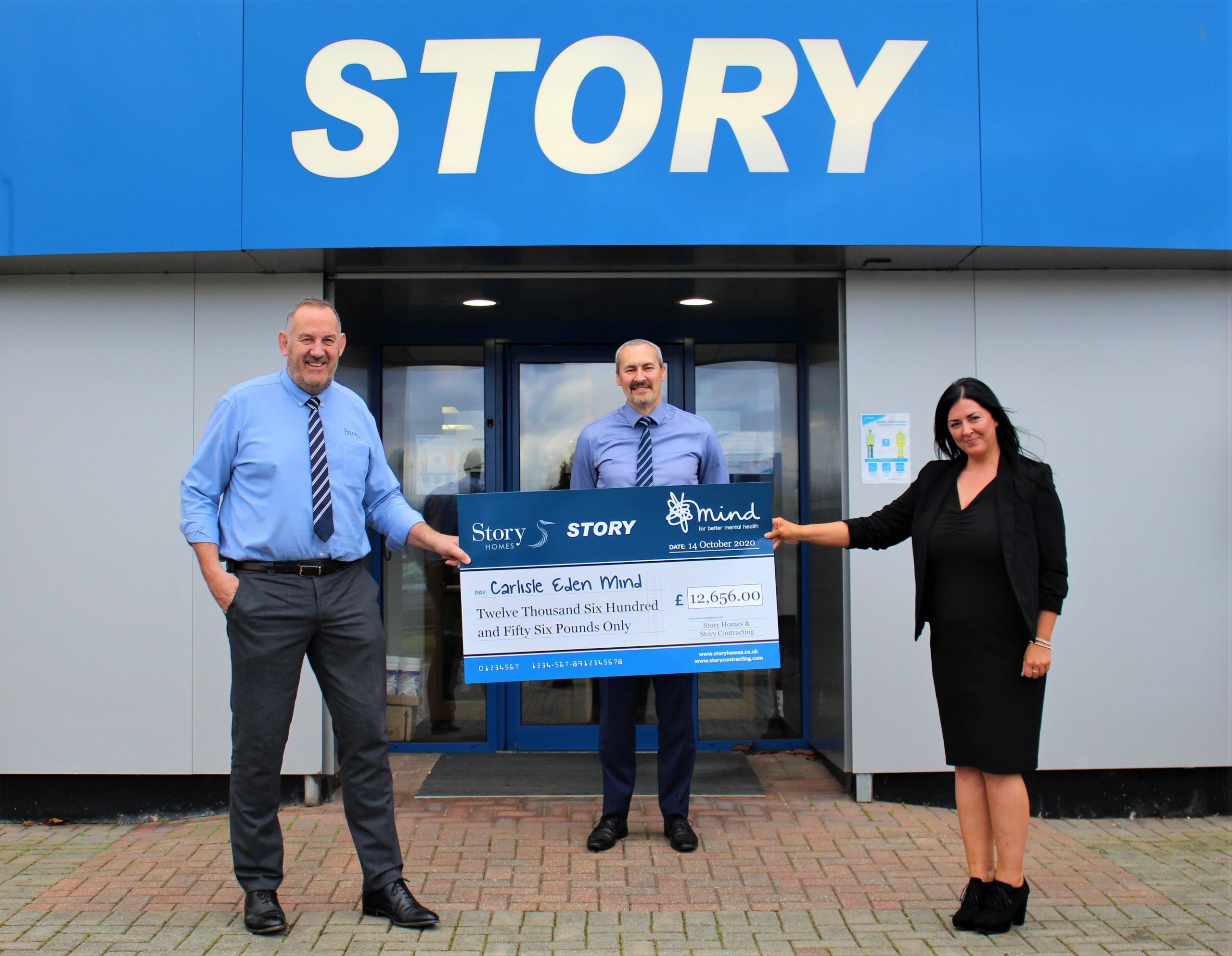 STORY HOMES AND STORY CONTRACTING DONATE OVER £28,000 TO MENTAL HEALTH CHARITY MIND