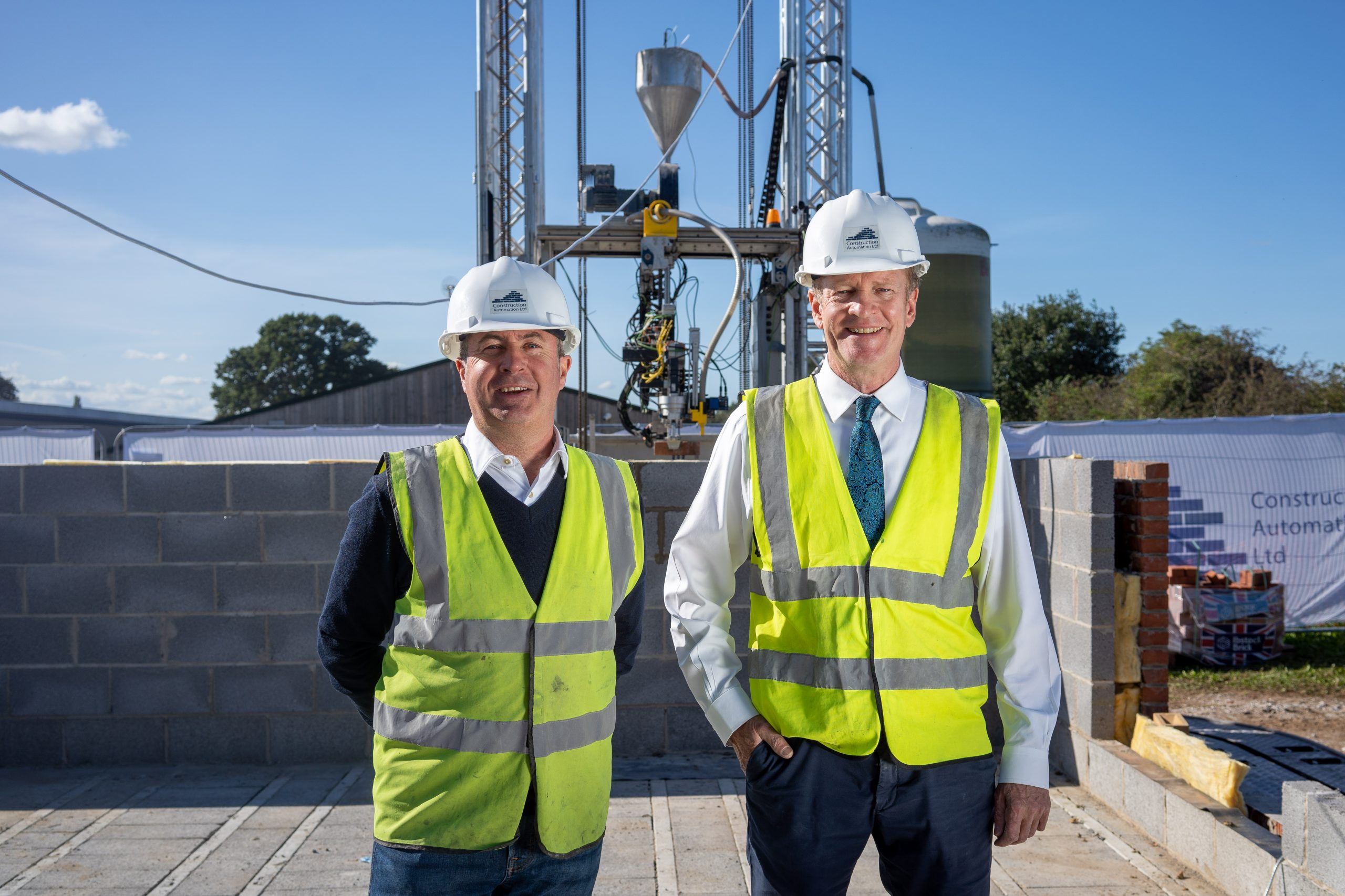 Work gets underway on UK's first ever robot-built house