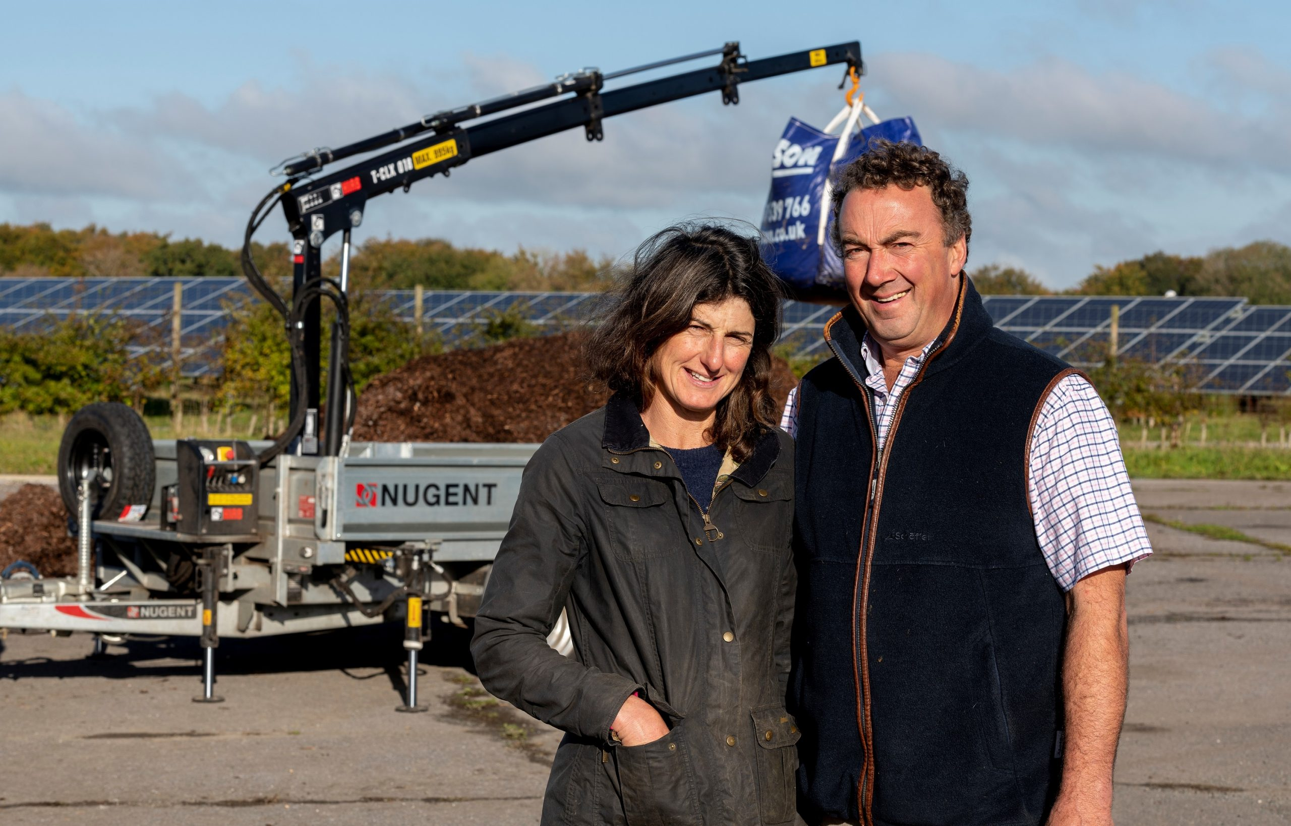 Agri Business Booming Thanks to Crane Trailer