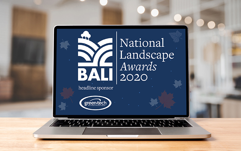 Register now to attend the virtual BALI National Landscape Awards 2020