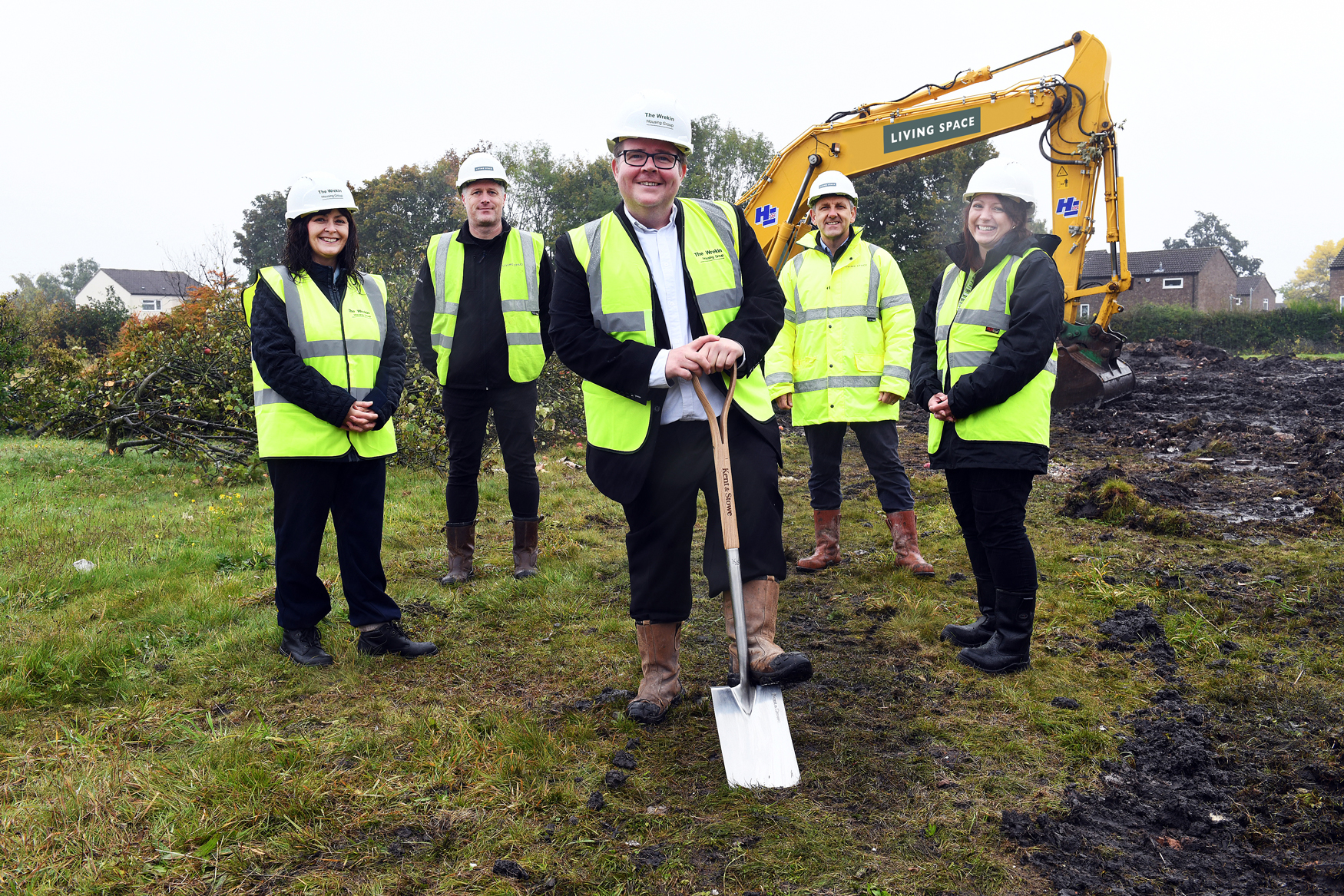 Construction commences to deliver 38 affordable homes on a brownfield site in Telford