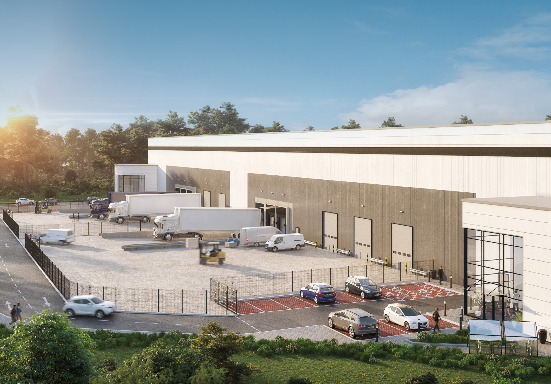 Savills IM and Panattoni commence London net zero carbon logistics development