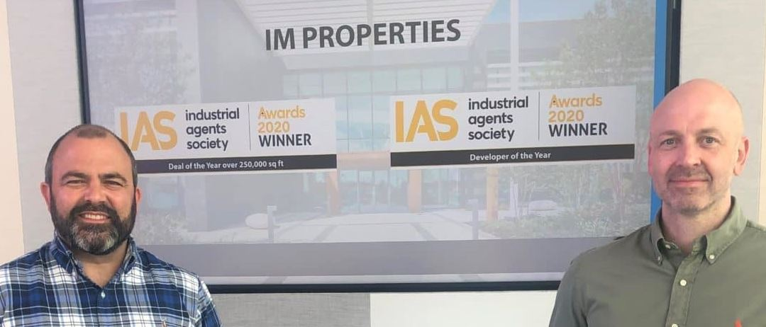 IM Properties win double at the 2020 Industrial Agents Society Awards