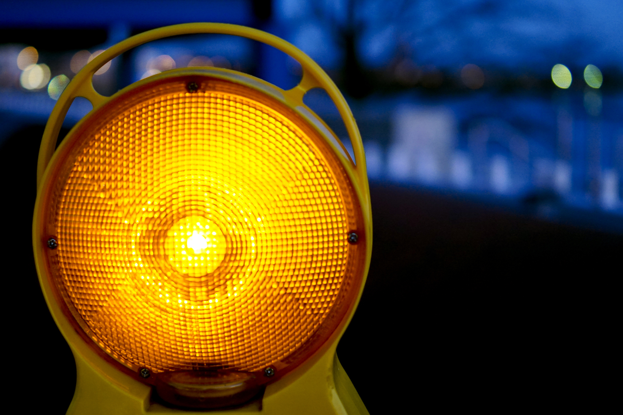 Improving safety for nighttime road construction workers