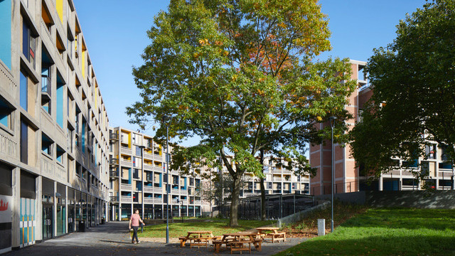 Park Hill Student Accommodation Completed