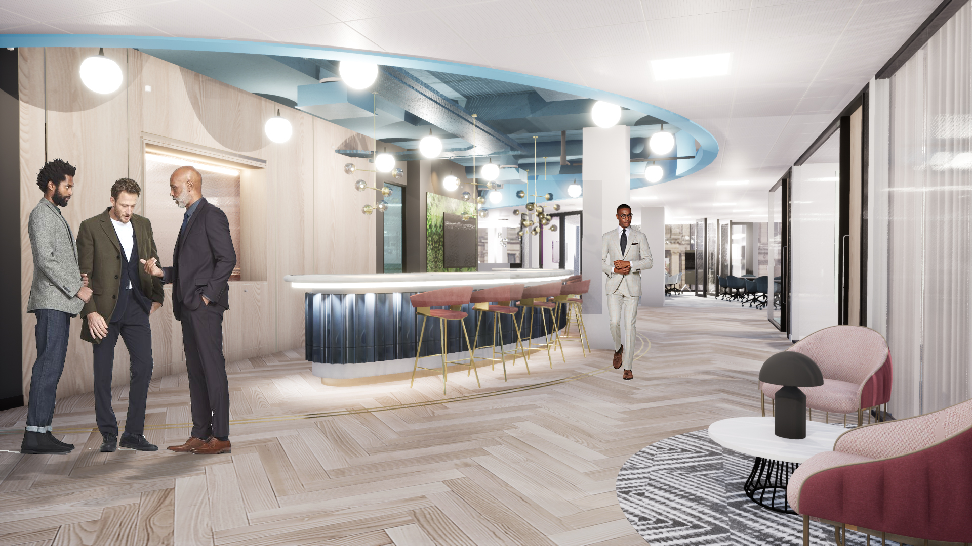 Overbury chosen to deliver 12,000 sq ft Chamberlain Square fit out