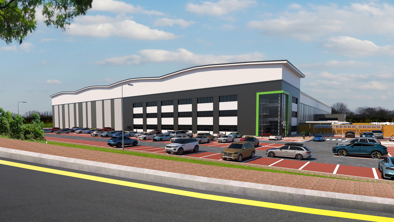 Goodman given green light for M25 340,000 sq ft prime e-commerce and deliveries site+