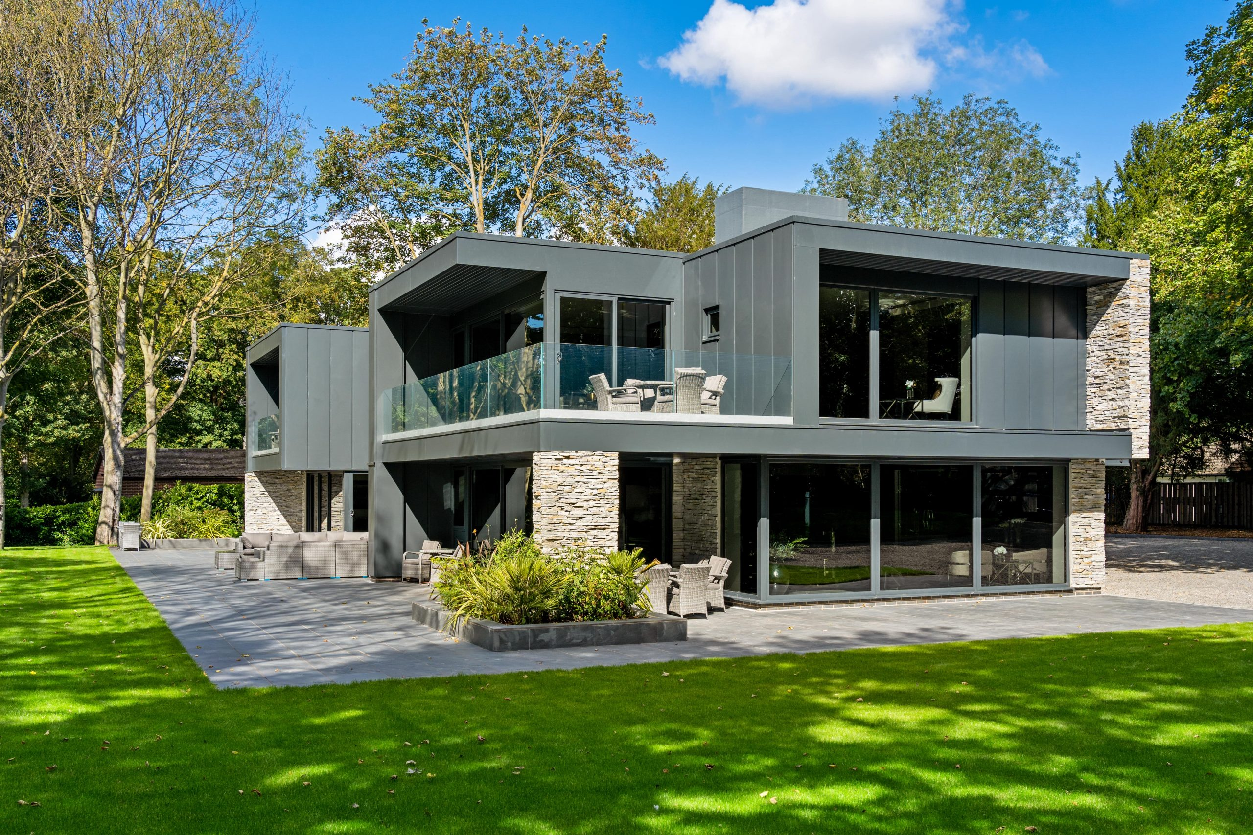 Modern luxury epitomised Guy Phoenix's £4.75m The Knoll comes to market
