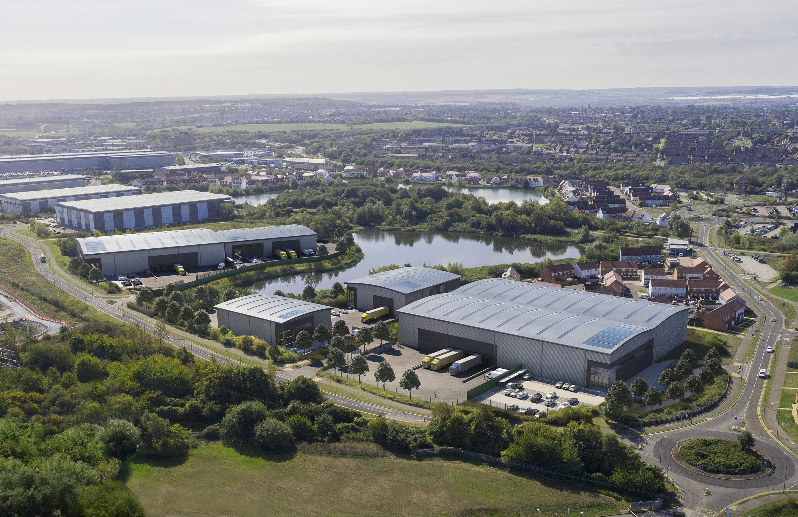 RPMI Railpen and Wrenbridge Secure Consent for Major Dartford Warehouse Development
