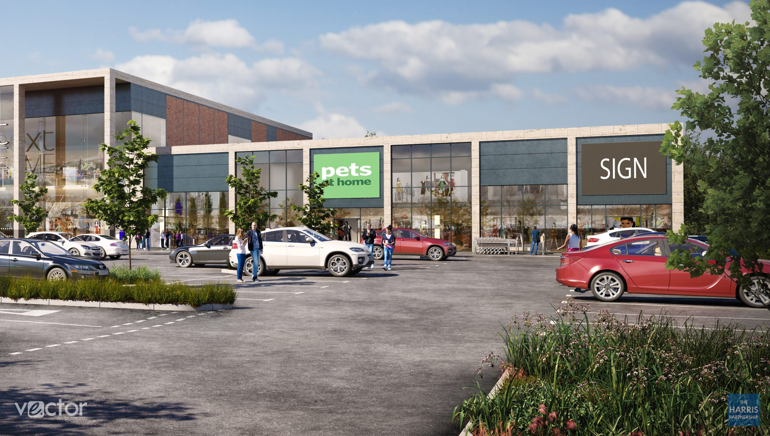 CASTLEHOUSE APPOINTED ON NEW BUILD PETS AT HOME STORE IN CHESHIRE