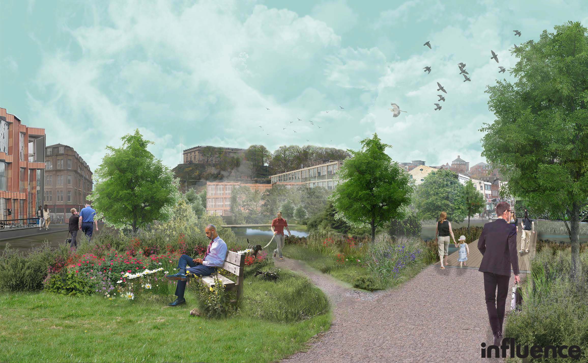 Wildlife Trust launches ambitious green vision for Nottingham