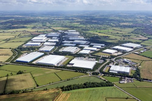 GLP completes development of over 1.25 million SQ FT at Magna Park South