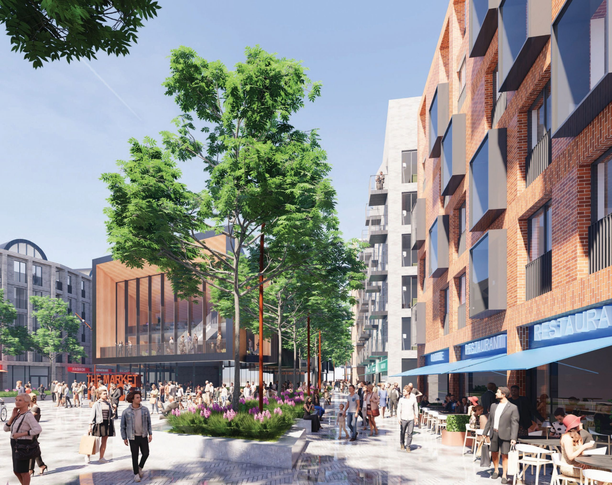 MANCTOPIA'S CAPITAL&CENTRIC TO DELIVER £50M COMMUNITY IN FARNWORTH TOWN CENTRE