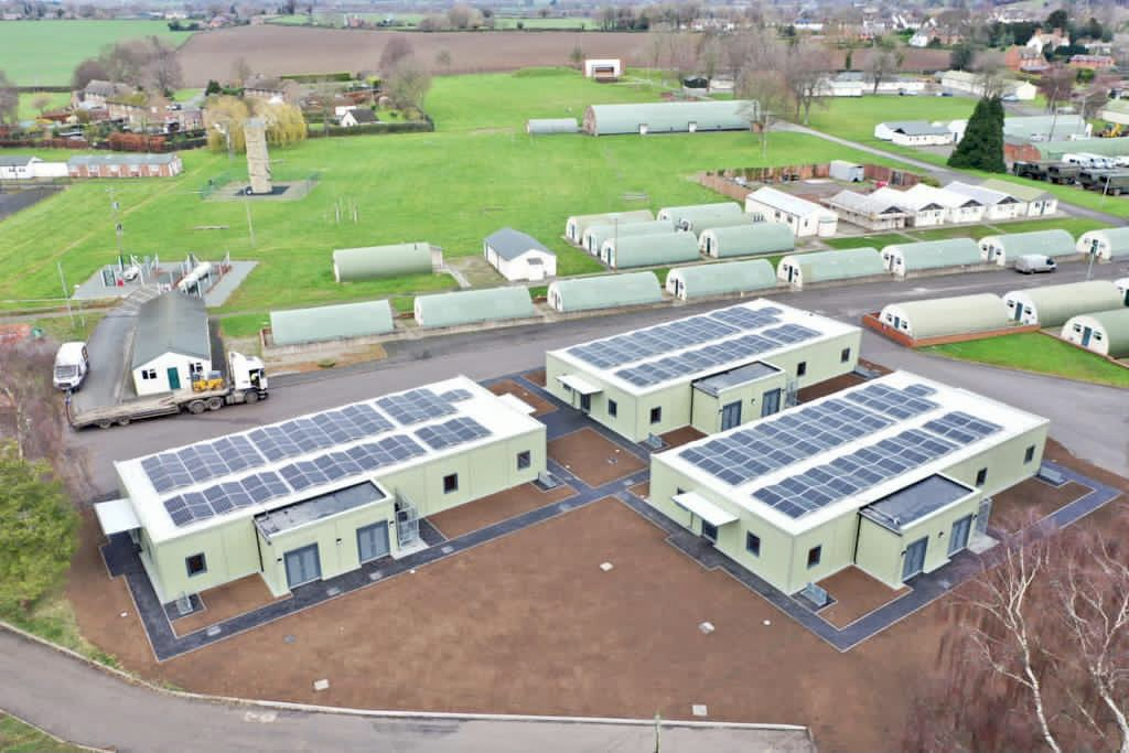 Investment in new carbon efficient accommodation marks start of nationwide improvements on the Defence Training Estate