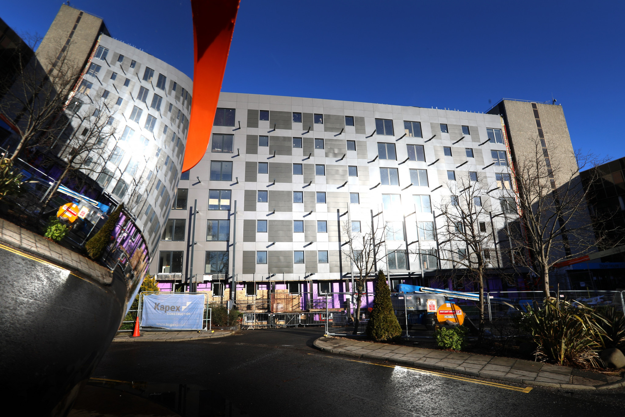 Transformation unveiled as scaffolding comes down on £5.4m Gosforth Regent Centre apartments