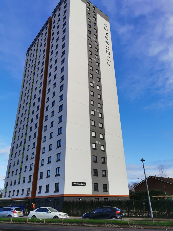 Salix Homes provides new lease of life for Salford tower once earmarked for demolition