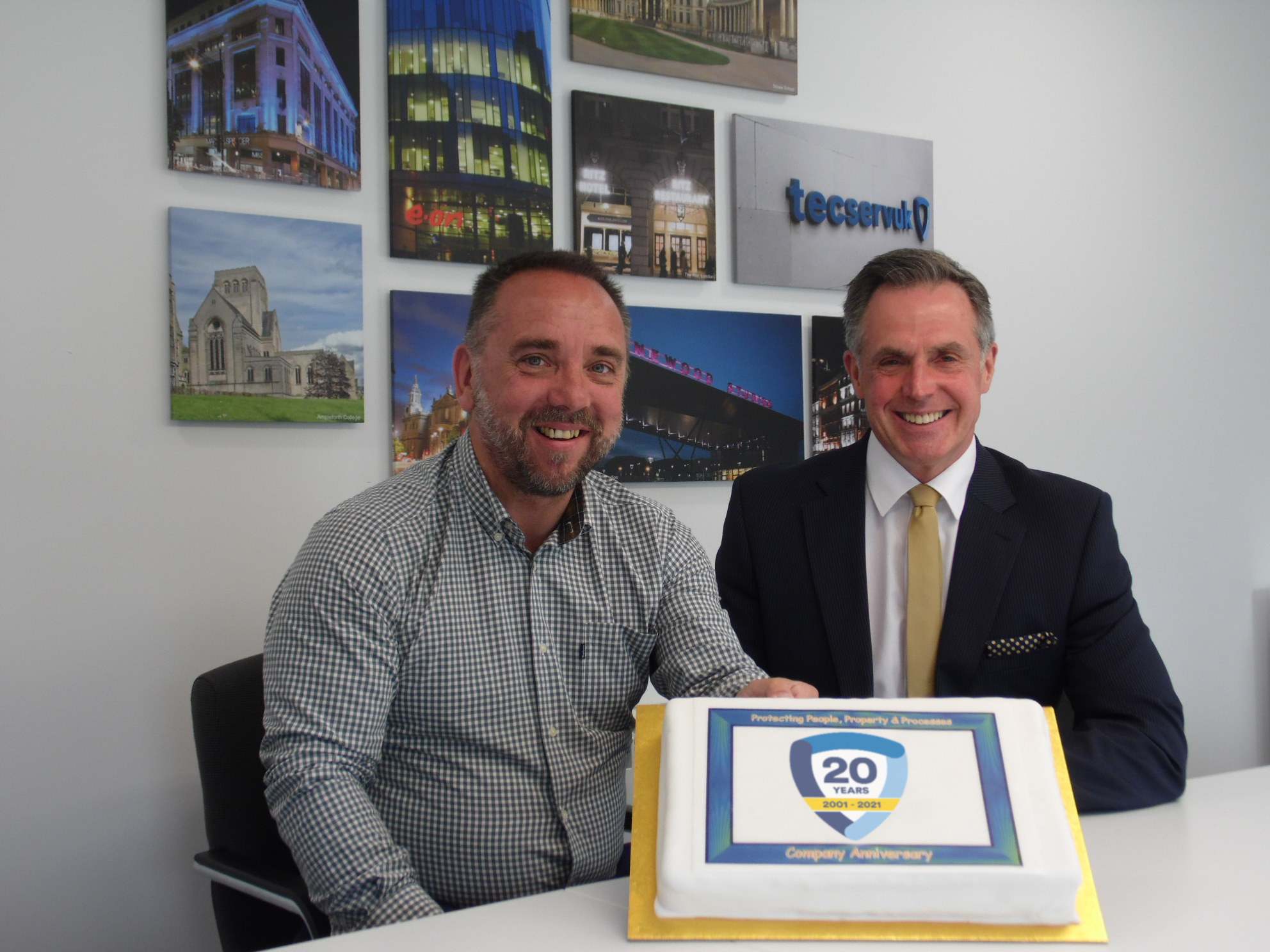 £1m PIPELINE HELPS FIRE & SECURITY FIRM CELEBRATE 20th ANNIVERSARY